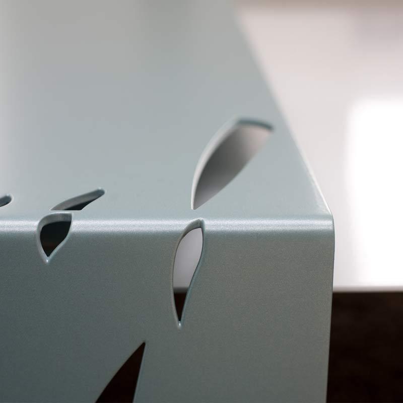 carre 2 finition blanc et lagoon lehoux paris. Black Bedroom Furniture Sets. Home Design Ideas